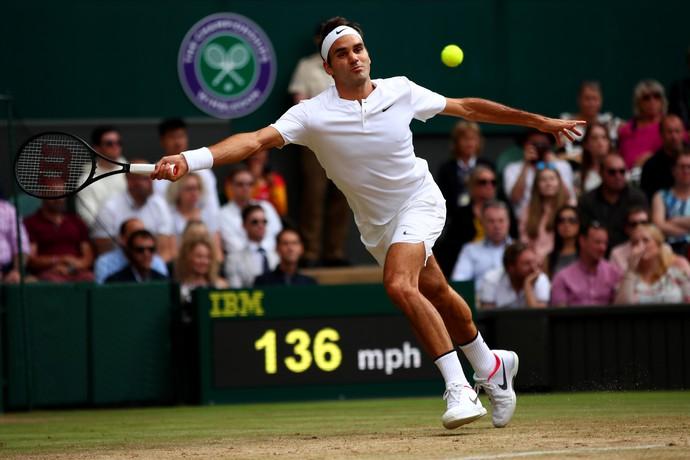 Roger Federer x Milos Roanic (Foto: Getty Images)