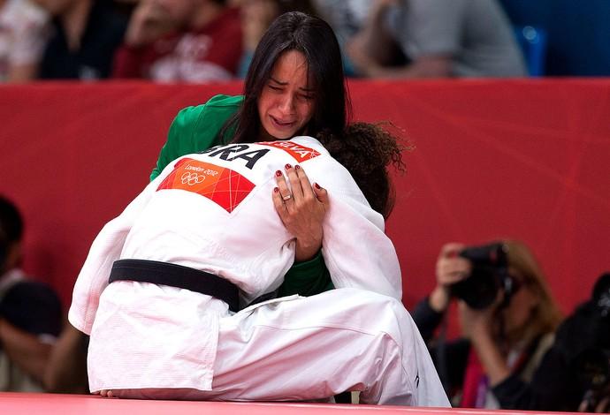 Rafaela Silva é eliminada no judô de Londres (Foto: Marcio Rodrigues / FOTOCOM.NET )
