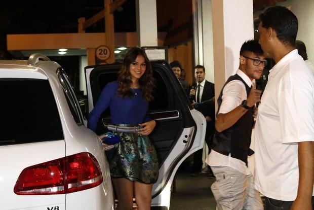 Bruna e Neymar (Foto: Felipe Assumpção/Leo Marinho/Agnews)