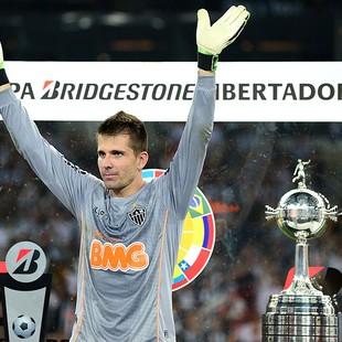 Victor festa Atlético-MG Libertadores (Foto: AFP)
