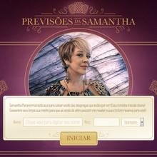 Descubra o que Samantha prevê para o seu futuro (Gshow)
