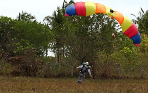 Paraquedismo AL (Foto: Viviane Leão/Globoesporte.com)