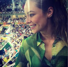 EGO - Rio 2016  famosos marcam presença na Olimpíada torcendo para o ... ef6db3fa5e677