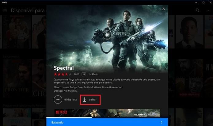 Acervo da Netflix para Download tem filmes e séries originais e de terceiros (Foto: Reprodução/Barbara Mannara)