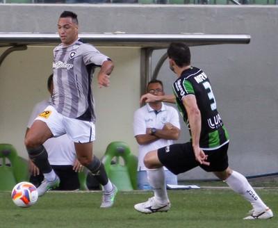 Daniel Carvalho Botafogo América-MG (Foto: FERNANDO MICHEL/ESTADÃO CONTEÚDO)