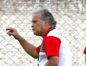 João Vallim, técnico do Velo Clube (Foto: Pedro Santana)