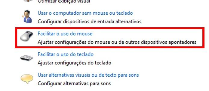 Opções facilitam controle do Windows caso algum periférico apresente problemas (foto: Reprodução/Windows)