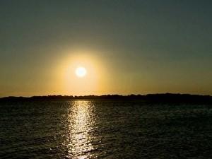 Pôr do sol (Foto: Rede Globo)