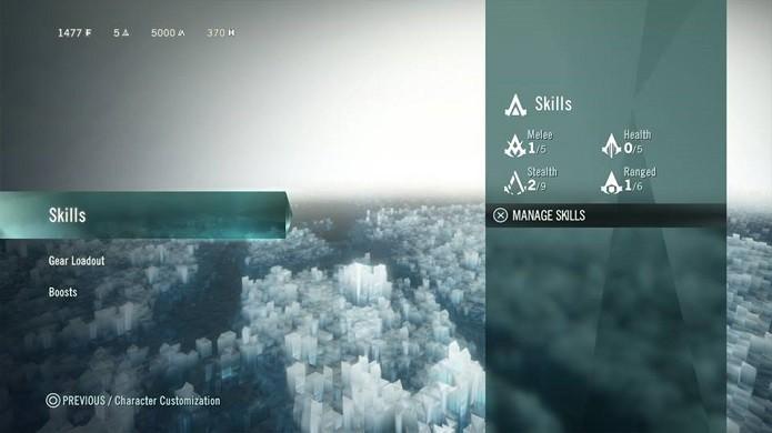 Confira o menu de opções de personalização (Foto: Reprodução/Thiago Barros)