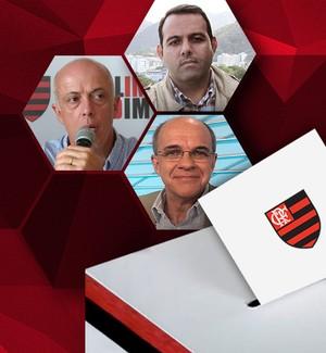 Carrosse votação Candidatos Flamengo (Foto: GloboEsporte.com)