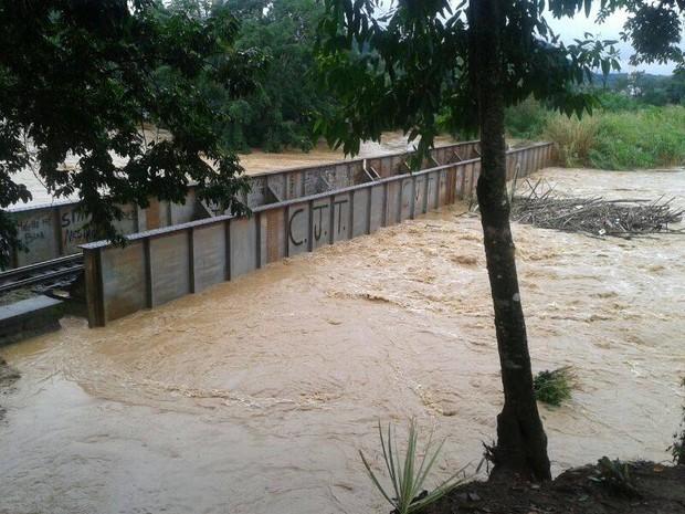 Enchente em Corupá  (Foto: Alexandro Preto/Divulgação )