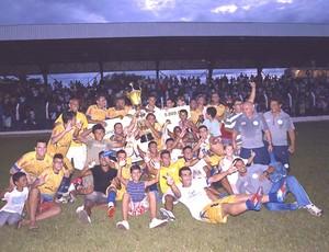 O interporto é o último campeão estadual e jogará a Copa do Brasil e o Brasileirào série D (Foto: Gil Correia/Arquivo Pessoal)