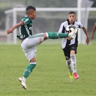 Palmeiras x Santos - sub-13 (Foto: Divulgação/Palmeiras)