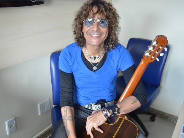 Luiz Caldas (Foto: Fredson Navarro / G1)