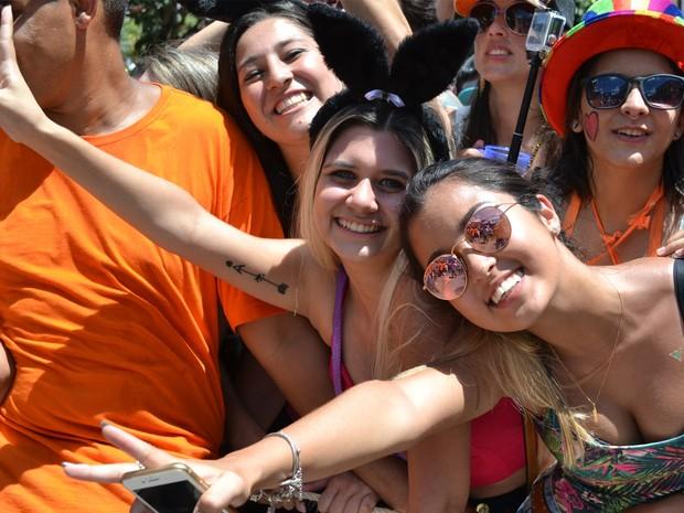 Bloco do Barbosa atraiu milhares de foliões a São Luiz do Paraitinga (Foto: Filipe Rodrigues/ G1)
