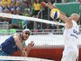 Alison e Bruno revelam ansiedade por desafio na Arena Olímpica de Tênis