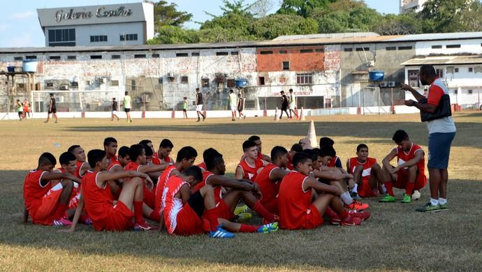 Equipe Sub-20 do Rio Branco (Foto: Nathacha Albuquerque)