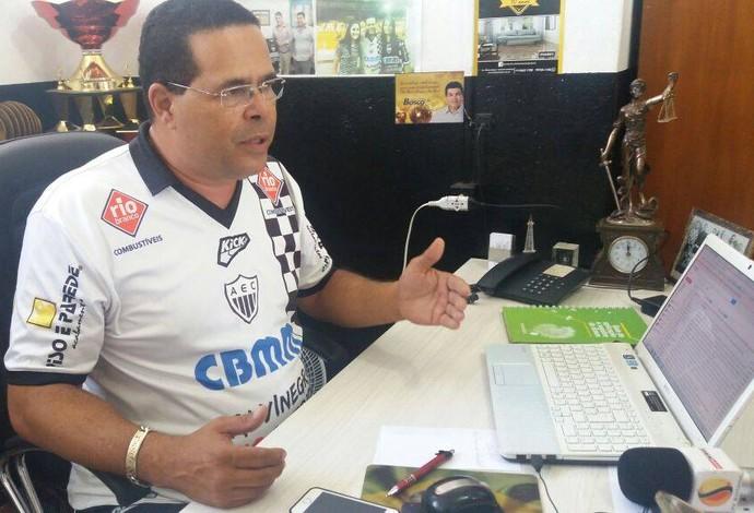 Jeferson Leite presidente Araxá Esporte (Foto: César Campos)