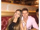 Ex-BBB Jonas publica foto com Mari Gonzalez: 'Feliz'