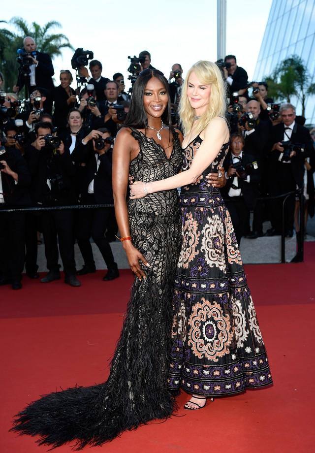Naomi Campbell e Nicole Kidman (Foto: Getty Images)