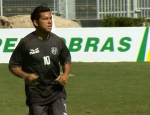 Marcinho em treino da Ponte Preta (Foto: Carlos Velardi/ EPTV)