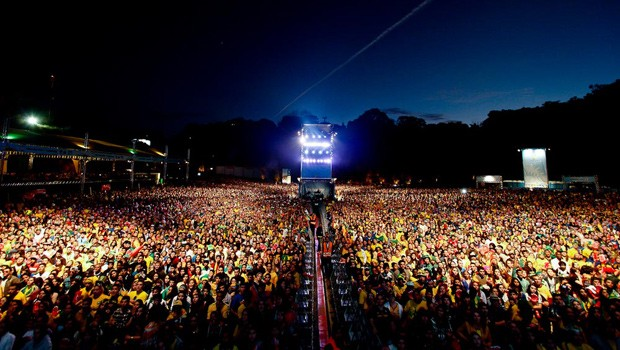 Fique atento para curtir a FIFA Fan Fest no dia do jogo do Brasil (Foto: Euricles Macedo/RPC TV)