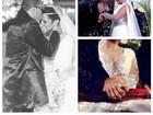 Mulher Moranguinho comemora um mês de casada com Naldo