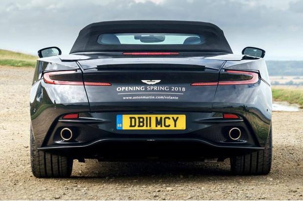 Aston Martin DB11 Volante (Foto: Divulgação)