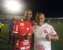 De férias em Goiás, Fernando reúne amigos em jogo solidário com Roni