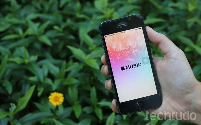 Apple Music chegou com o iOS 8.4 (Foto: Maria Clara Pestre/TechTudo)