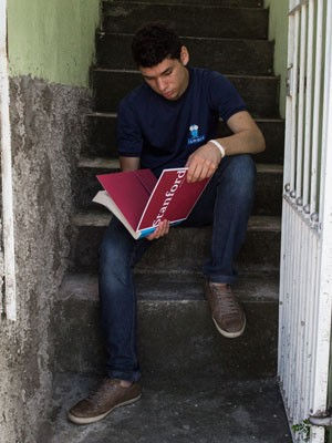 Gustavo foi aceito pela Universidade Stanford (Foto: Victor Moriyama/G1)