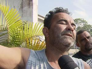 Pai de jovem degolada em Itanhaém, SP, pede justiça (Foto: Reprodução/TV Tribuna)