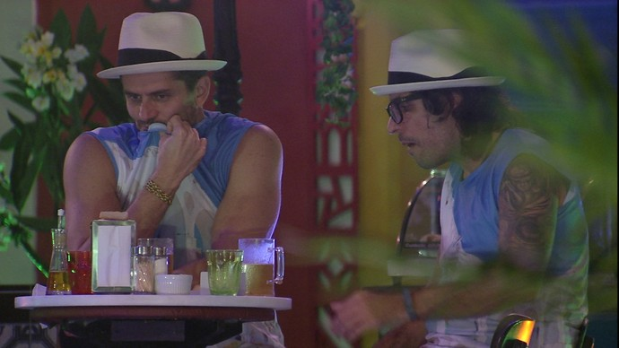 Marcos e Ilmar (Foto: TV Globo)