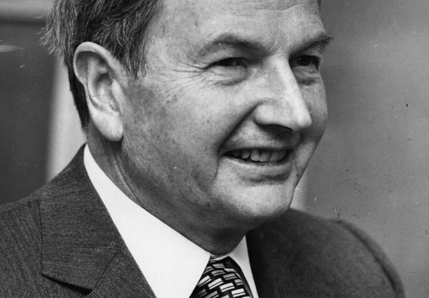 David Rockefeller em 1976, aos 61 anos (Foto: Getty Images)