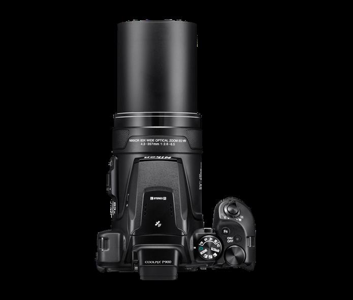 Zoom da Nikon Coolpix P900 tem alcance de até 2000 mm (Foto: Divulgação/Nikon)
