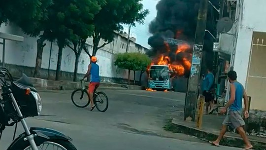 Fortaleza volta a registrar ataque a ônibus nesta quinta-feira