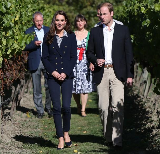 Kate Middleton em tour na Nova Zelândia, em 2014 (Foto: Fiona Goodall - Pool/Getty Images)
