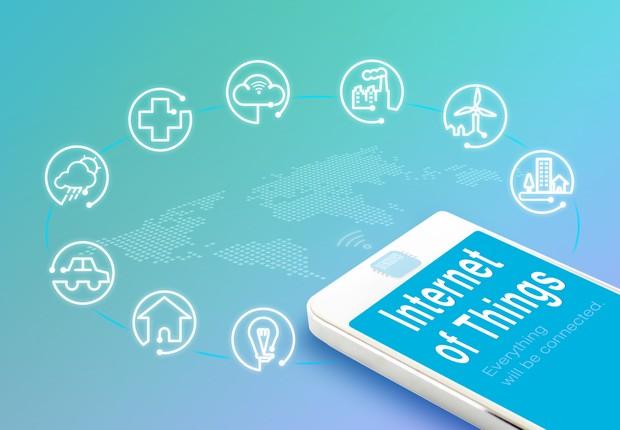 Iot internet das coisas ilustra (Foto: Thinkstock)