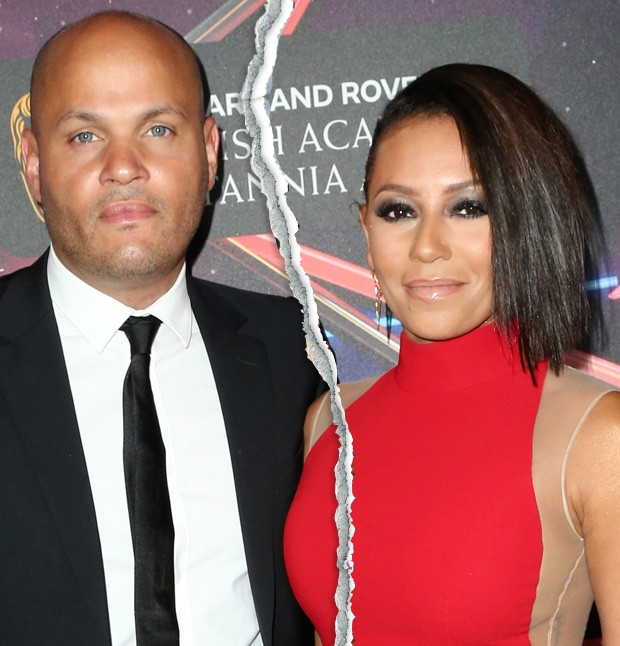 Melanie Brown e Stephen Belafonte (Foto: Getty Images)
