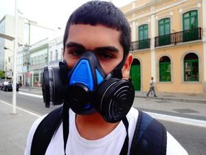 Cauã Duarte, estudante de 18 anos. (Foto: Priscilla Alves/ G1)