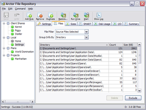 Interface Arctor File Repository