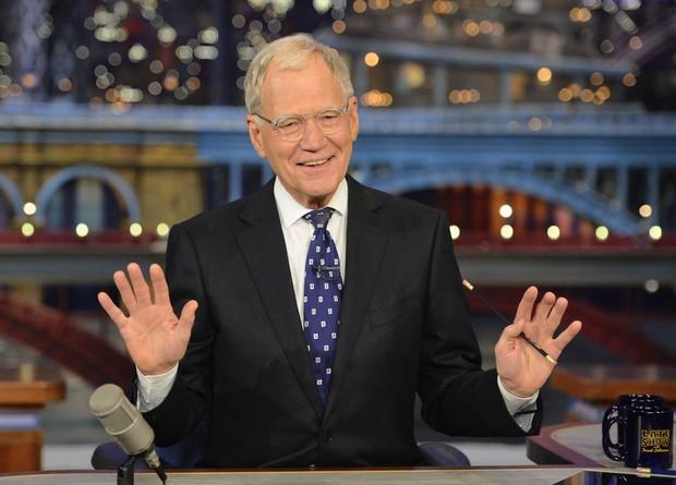 David Letterman se despede da TV (Foto: Getty Images)