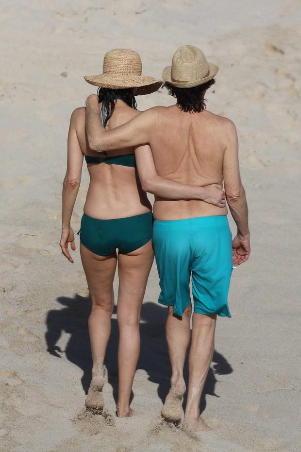 Paul McCartney e a mulher, Nancy Shevell (Foto: Grosby Group/Agência)