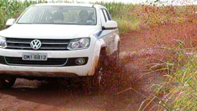 Rally Eco Goiás 2014 (Foto: Reprodução/ TV Anhanguera)