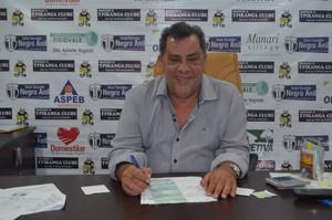 Luiz Omar Pinheiro; Ypiranga  (Foto: Rafael Moreira/GE-AP)