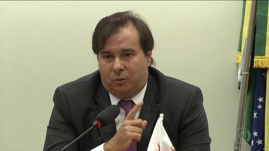 Rodrigo Maia assume candidatura à presidência da Câmara