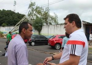 Jacob Júnior, presidente do Piauí (Foto: Abdias Bideh/GloboEsporte.com)