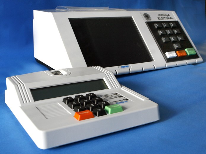 Nunca usou uma urna eletrônica? Faça um teste no Simulador de Voto (Foto: Divulgação/TSE)