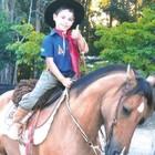 Após perder égua, menino ganha 2 animais (Arquivo pessoal)