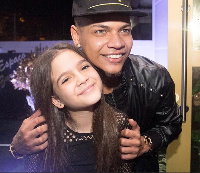 Mel Maia e MC Duduzinho (Foto: Diogo Dubem)